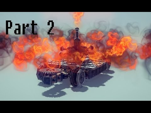 Besiege | Part 2 | 100th Try's the Charm!