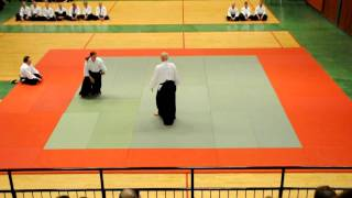 Aikido - Sverigeläger 2010 uppvisning, Jan Eriksson 4:e Dan