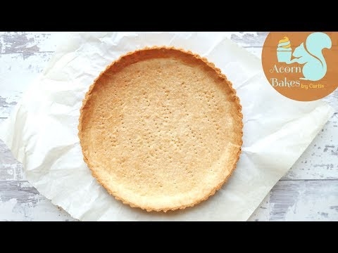 HOW TO MAKE & BLIND BAKE SHORTCRUST PASTRY | Recipe | Acorn Bakes