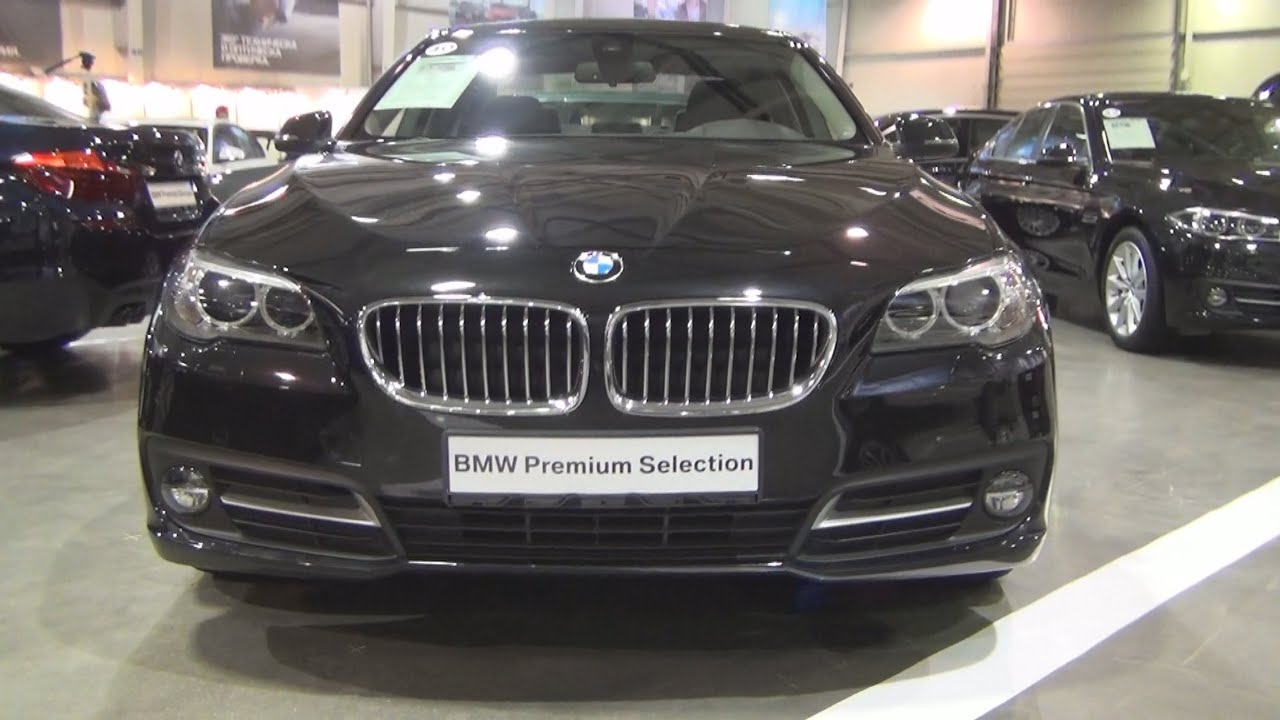 bmw 520d xdrive sedan (2016) exterior and interior in 3d - youtube