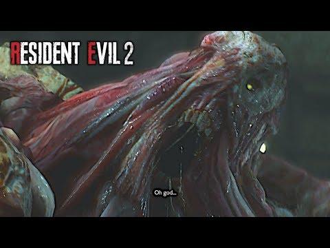 Resident Evil 2 Remake 2019 True Ending