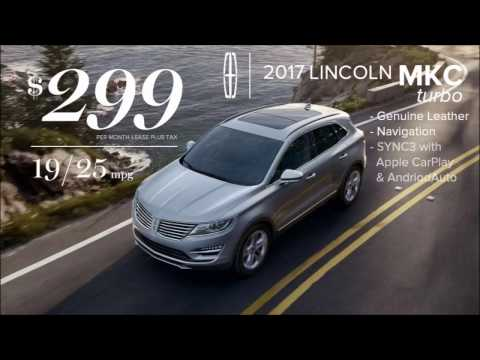 Now Only $299 mo. lease* Witt Lincolns Luxury Compact Crossover brings amazing value.