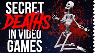 Super Secret Deaths in Video Games!