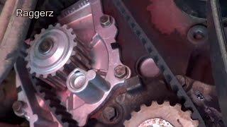 Landrover Freelander II Timing Belt & Water Pump Replacement