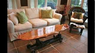 Spalted Maple Roll A Car Coffee Table Display