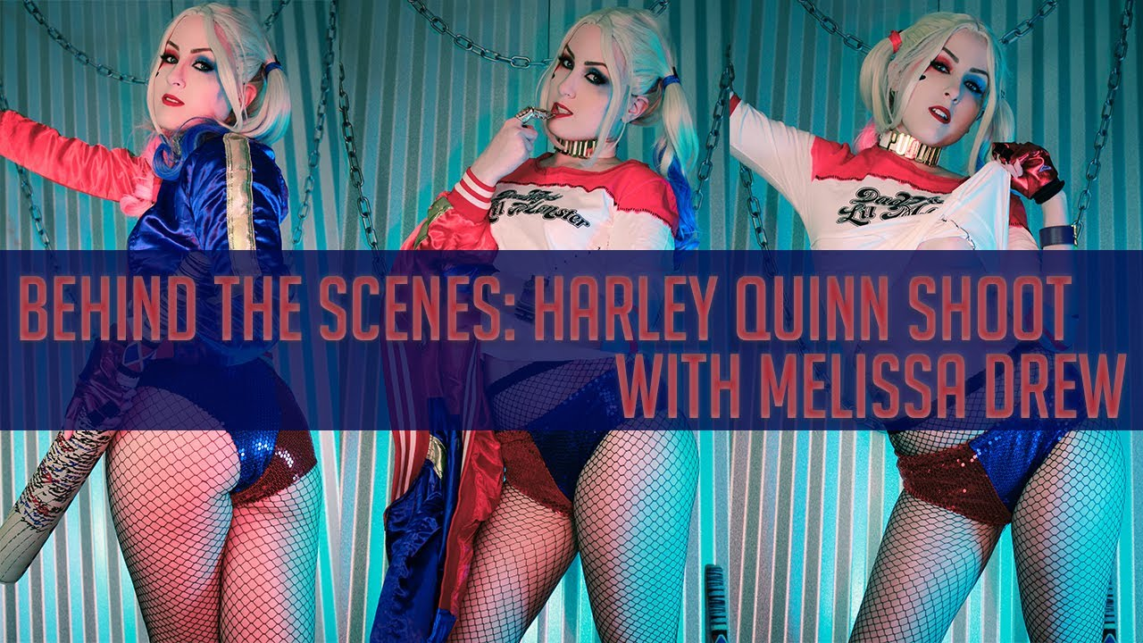 Photography on a Budget: Behind the Scenes Shooting Harley Quinn with Melissa Drew