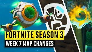 Fortnite | All Season 3 Map Updates And Hidden Secrets! Week 7