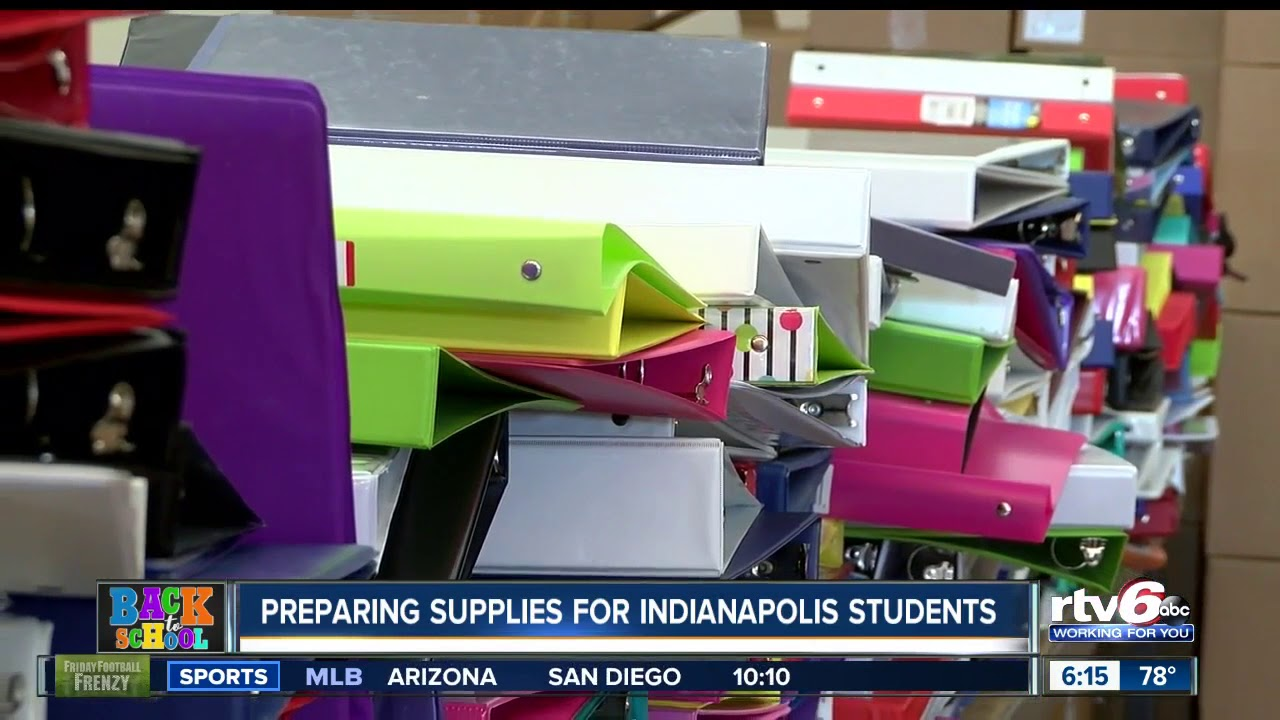 Indy Back Pack Attack Offers Free School Supplies To Students