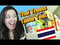 Thai Candy and Treats Taste Test 2
