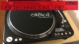 DER TECHNICS-KILLER OMNITRONIC DJ TURNTABLE DD-5220L!?