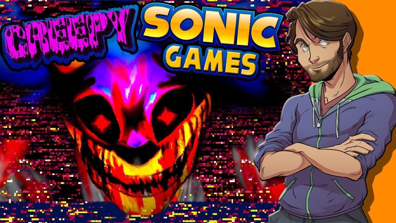 Creepy Sonic Games Spacehamster Doovi