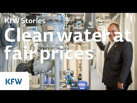 Clean water at fair prices - Water treatment plant in Colombia