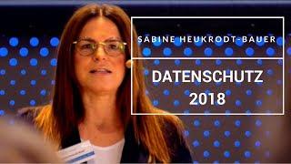 Sabine Heukrodt Bauer erklärt die EU-DSGVO