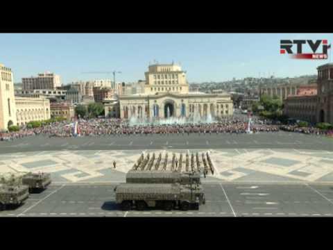 Армения отметила День независимости крупнейшим военным парадом