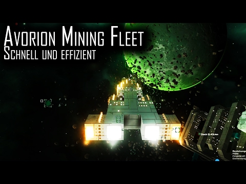 "Let's Play Avorion ""Mining Fleet: Basics"" german 