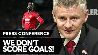 MAN UTD 0 V MAN CITY 2: Solskjaer's Post-Match Press Conference