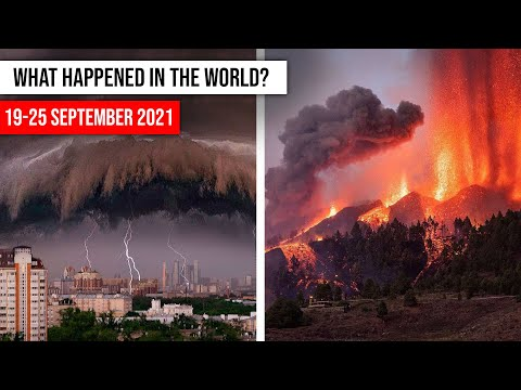NATURAL DISASTERS this week from 19 - 25 September 2021 Climate changе! flood, hail storm