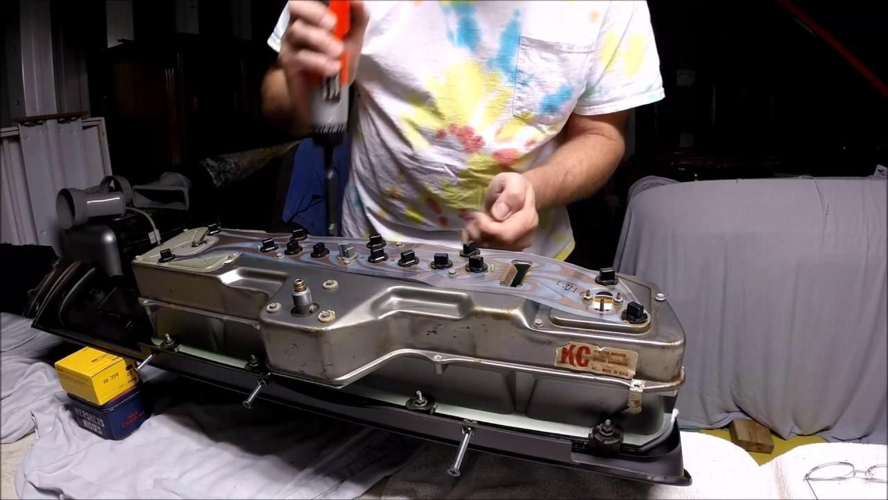1966 Impala SS separate dash cluster from dash - YouTube on caprice wheels, caprice engine diagram, caprice headlight, 2007 impala engine diagram,