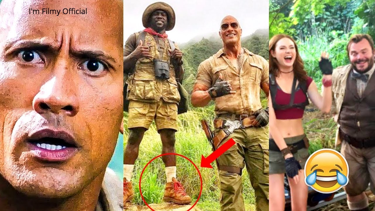 Jumanji 2 hilarious behind the scenes try not to laugh with jumanji 2 hilarious behind the scenes try not to laugh with kevin hart the rock 2017 stopboris Gallery