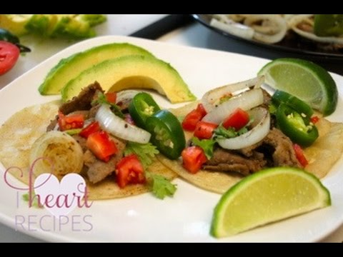 How To Make Steak Tacos - Quick And Easy Recipe - I Heart Recipes