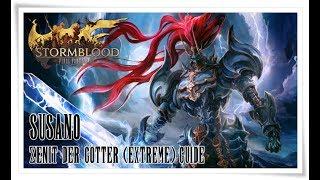 Final Fantasy XIV Stormblood   Zenit der Götter - Susano (Extreme) Guide