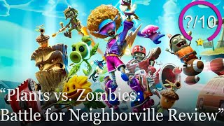 Plants vs. Zombies: Battle for Neighborville Review [PS4, Switch, Xbox One, & PC] (Video Game Video Review)