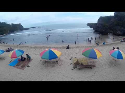 Cheerson CX 20 with Xiaomi Yi and Sj4000 wifi. Siung Beach