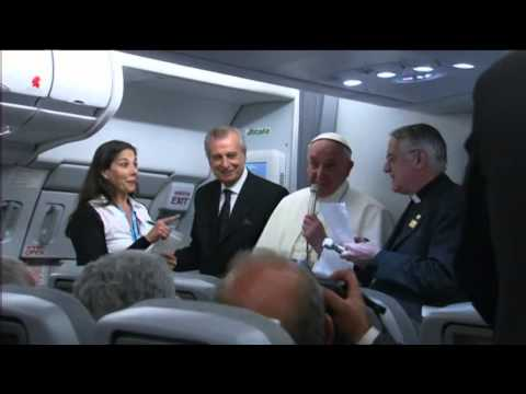 Pope: Church should apologize for LGBT treatment from YouTube · Duration:  3 minutes 13 seconds