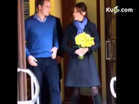 威廉王妃凯特怀孕_凯特王妃怀孕后首度亮相威廉王子全程护驾-YouTube
