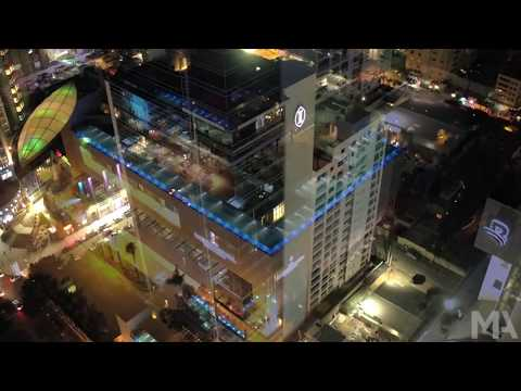 Santo Domingo Dominican Republic Drone 2016 Nightlife City Living