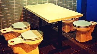 Toilet Food And 8 More Weird Restaurants