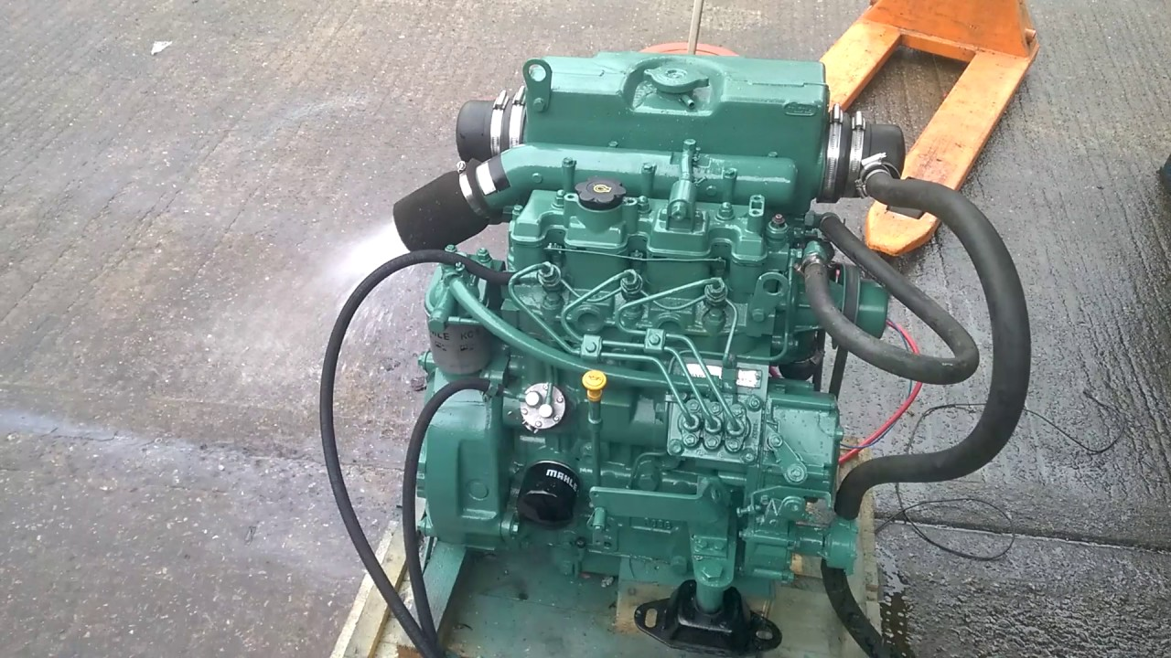 Volvo Penta Md 39hp Marinesel Engine