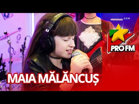 Maia Malancus & RockFire - All I Want For Christmas Is You | ProFM LIVE Session