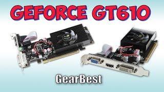 Видеокарта GeForce GT610  с GearBest ♦ Страшно брать, но дёшево...