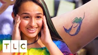 Jazz Gets A Surprise Tattoo For Her Birthday! | I Am Jazz