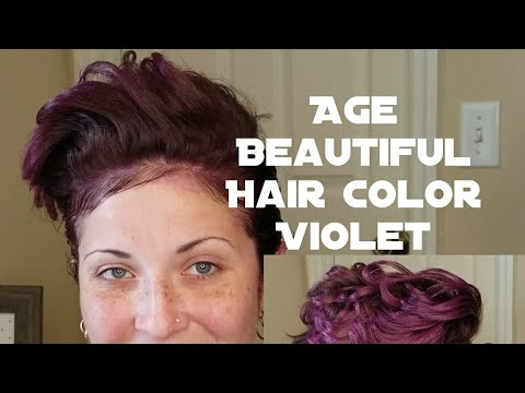 Age Beautiful Hair Color 5V Review Amp Application YouTube