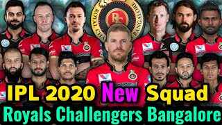 IPL 2020 Royal Challengers Bangalore Full and Final Squad   RCB New Squad in IPL 2020   RCB Squad