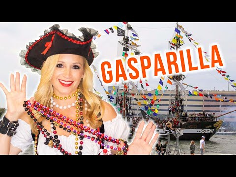 What is the Gasparilla Pirate Festival + Parade ??? 🏴☠️ Tampa Traditions   MELANIE ❤️ TAMPA BAY