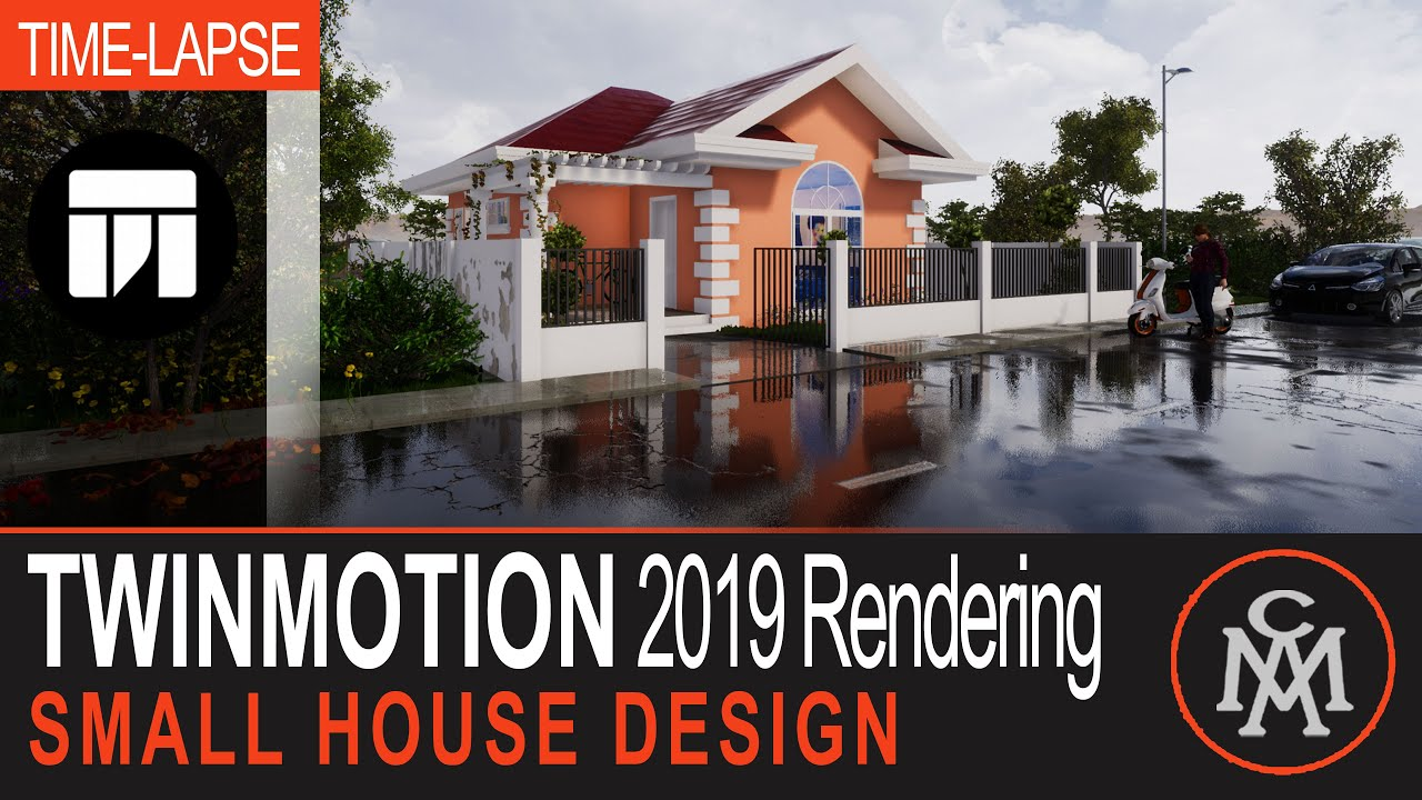 Twinmotion 2019 Rendering Tutorial #01- Small House