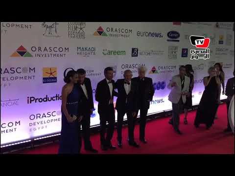 لحظة وصول النجم العالمي باتريك ديمبسي مهرجان الجونة السينمائي  - نشر قبل 9 ساعة