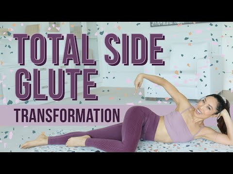 10 Minute Side Booty Shaper   Total Body Transformation Workout