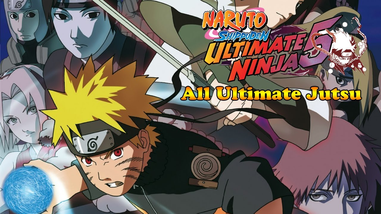 Naruto Shippuden Ultimate Ninja  All Ultimate Jutsu Specials