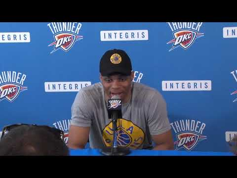 Thunder exit interview - Russell Westbrook