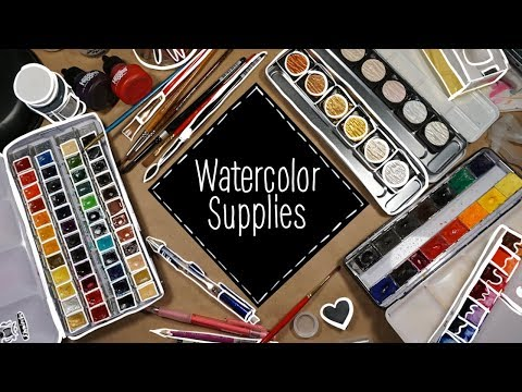 An In Depth Look At My Art Supplies