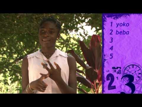 Numbers in Benga