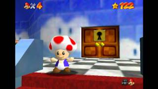 super mario 64 bloopers: brother battles