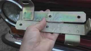 Кронштейн переднего бампера ВАЗ 2101