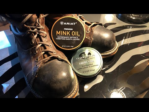 Applying Mink Oil To Leather Boots
