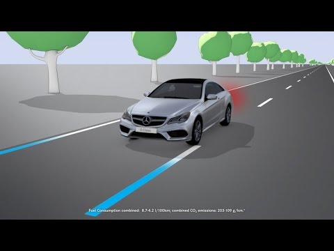 Lane Keep Assist >> E Class Active Lane Keeping Assist Mercedes Benz Original