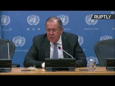 Conférence de presse de Sergueï Lavrov après la réunion du Conseil de sécurité de l'ONU